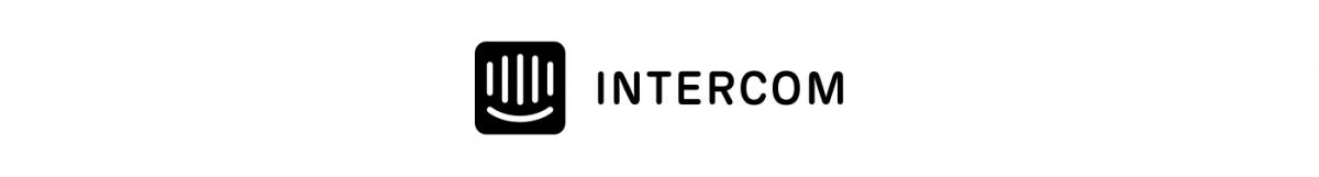 The logo of Intercom
