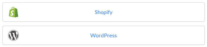 Add WordPress and Shopify chat with a plugin