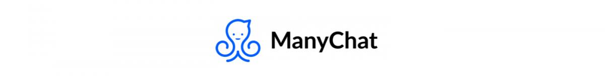 The logo of a Facebook chatbot platform - ManyChat