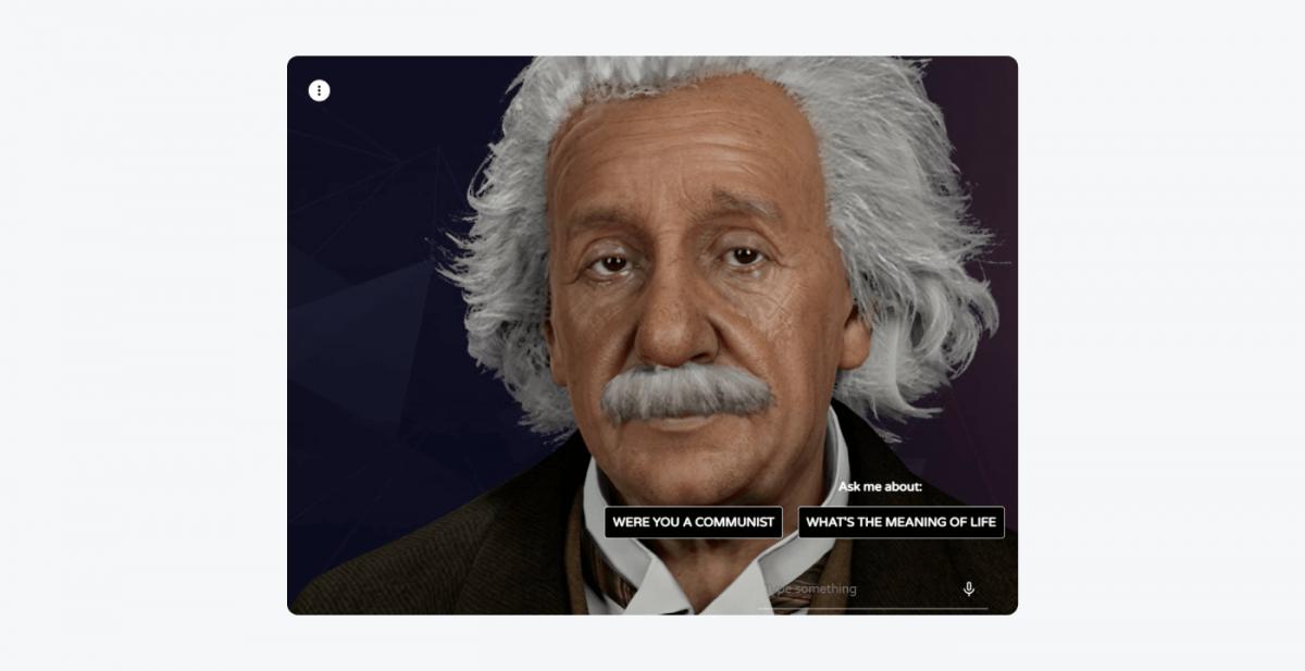 Meet Einstein example