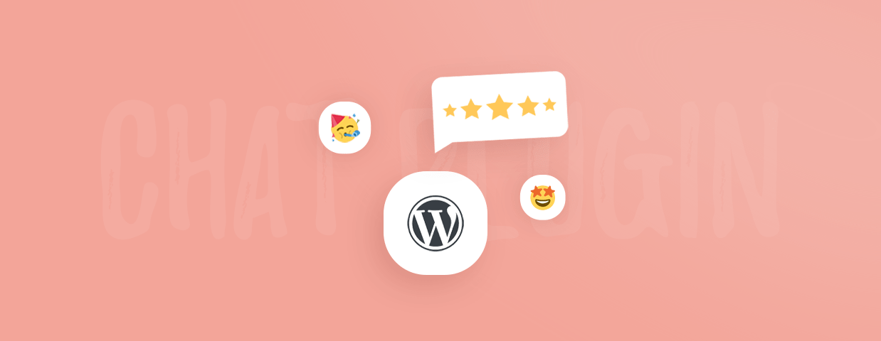 A featured image illustration with WordPress logo