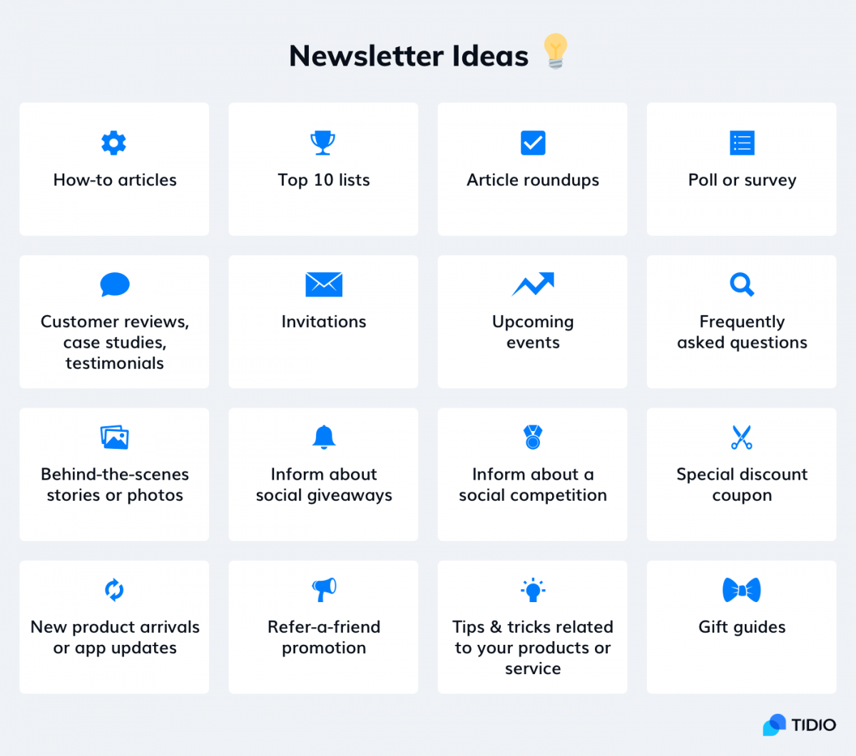 The best newsletter ideas