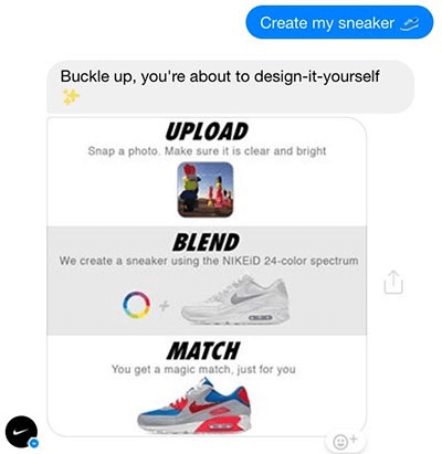 Nike style chatbot