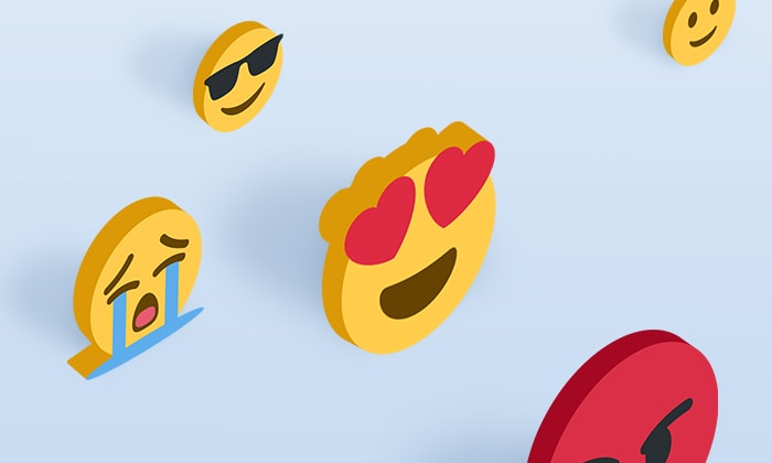 Try emojis with chatbot conversations