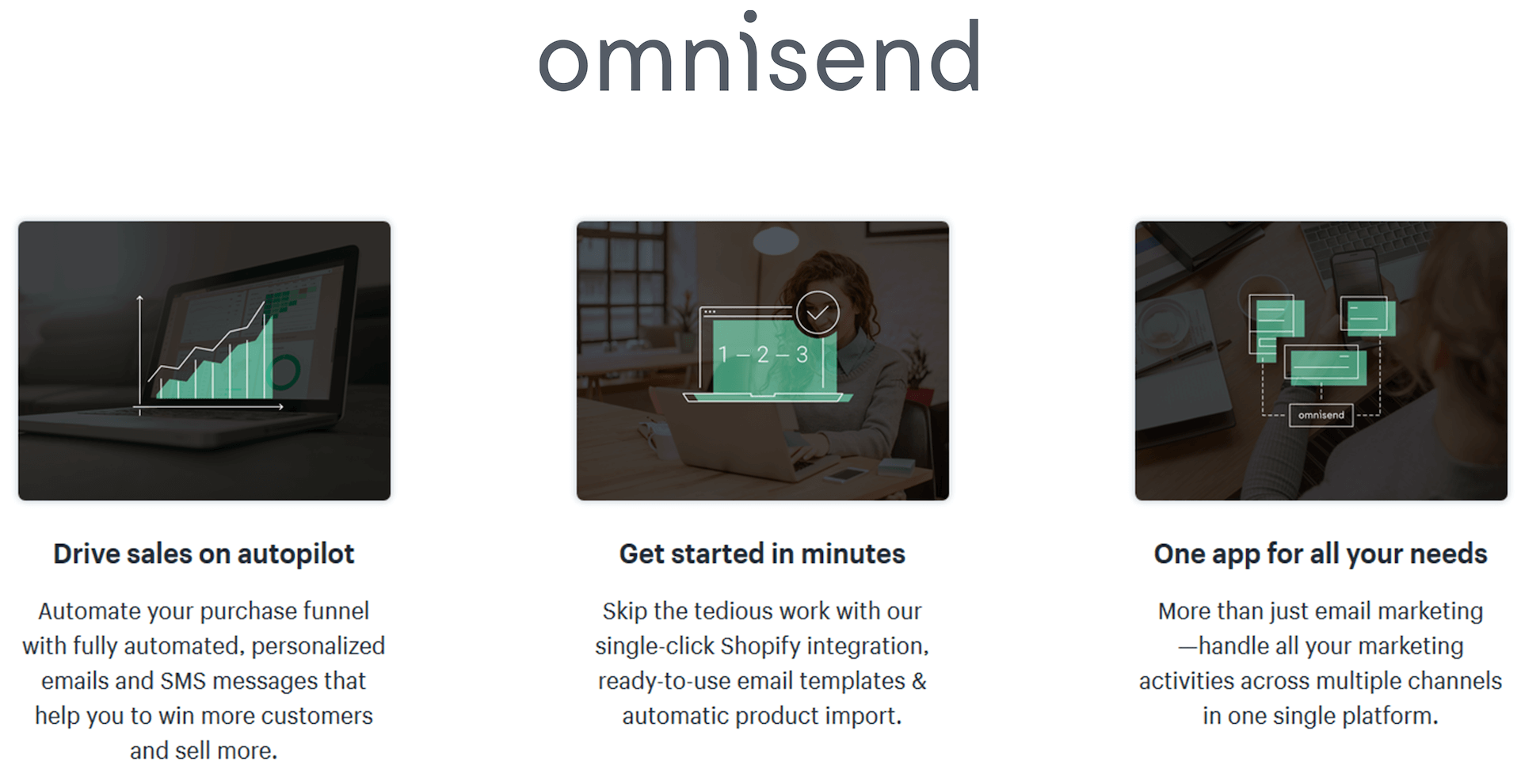 Omnisend - email marketing