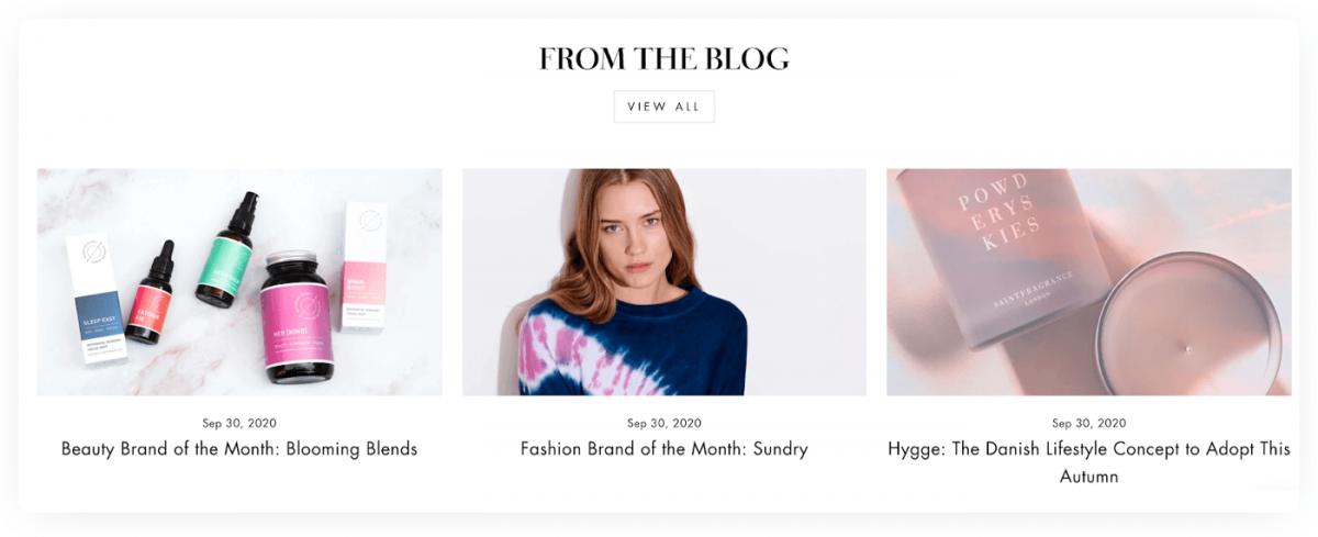A blog about fashion