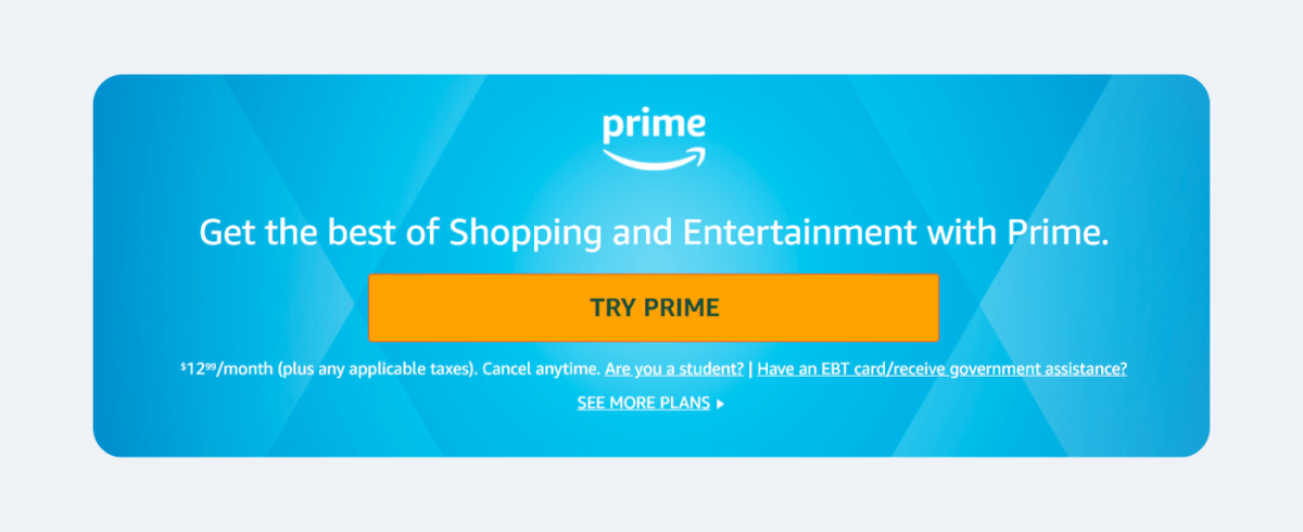 An example of a relationship marketing program by Amazon