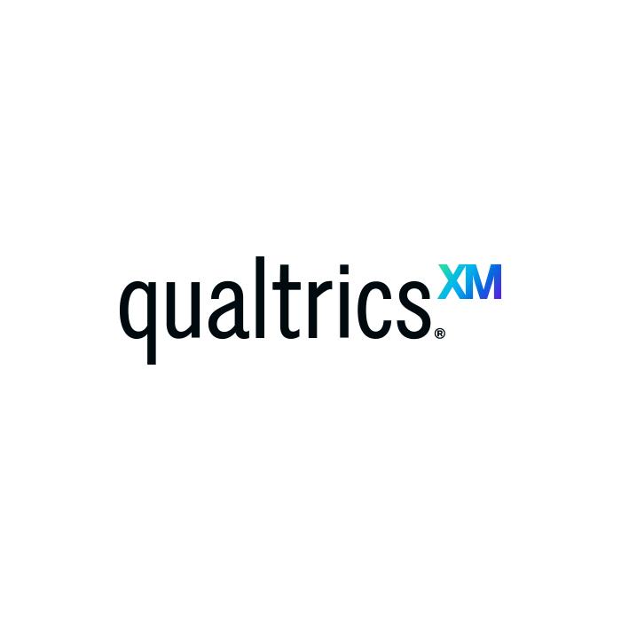The logo of Qualtrics