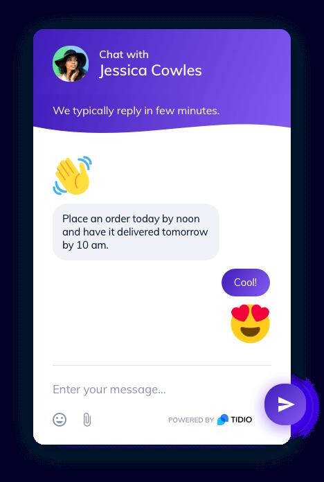 custom chatbot template