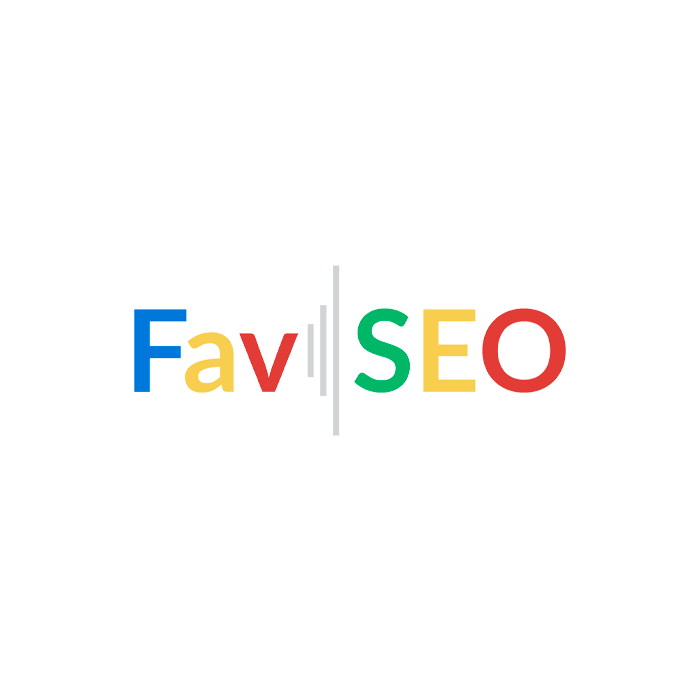 FavSEO for BigCommerce - logo, features, and pricing section illustration