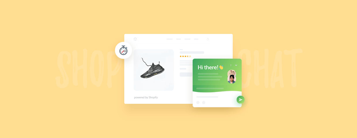 How to add live chat to a Shopify store - cover art