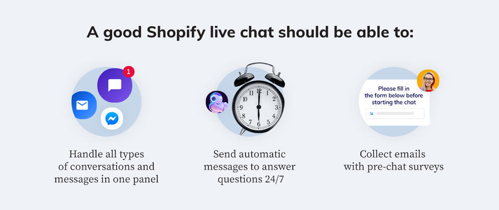 The benefits of a Shopify live chat