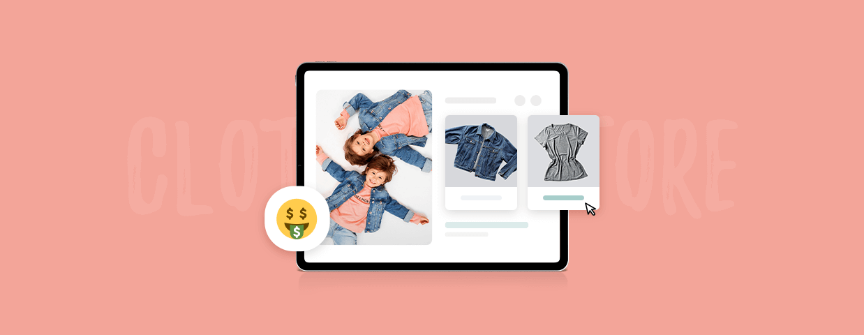 How to start an online clothing store - cover art