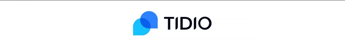 The logo of Tidio