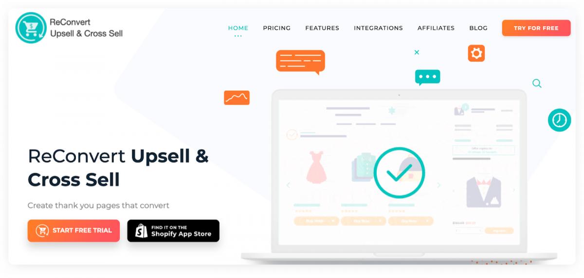 ReConvert homepage