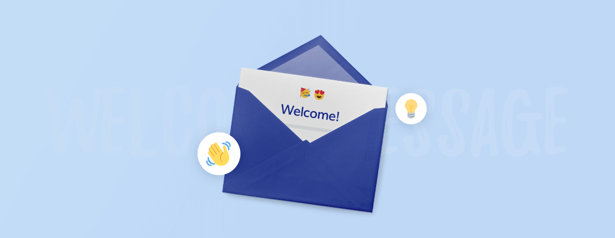 Best welcome messages cover art