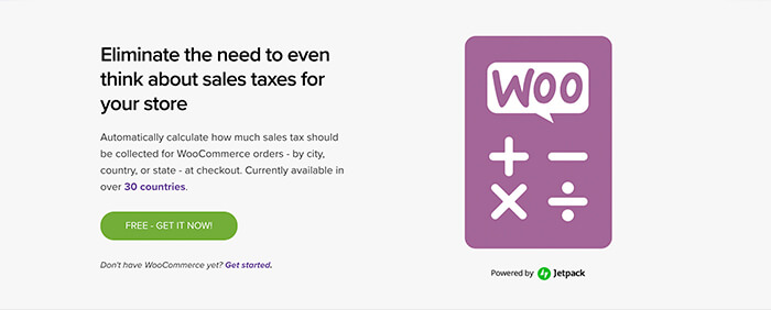 WooCommerce Tax in the app store