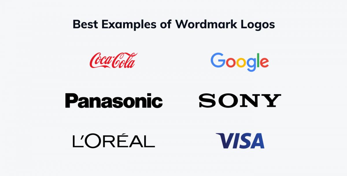The best examples of wordmark logos