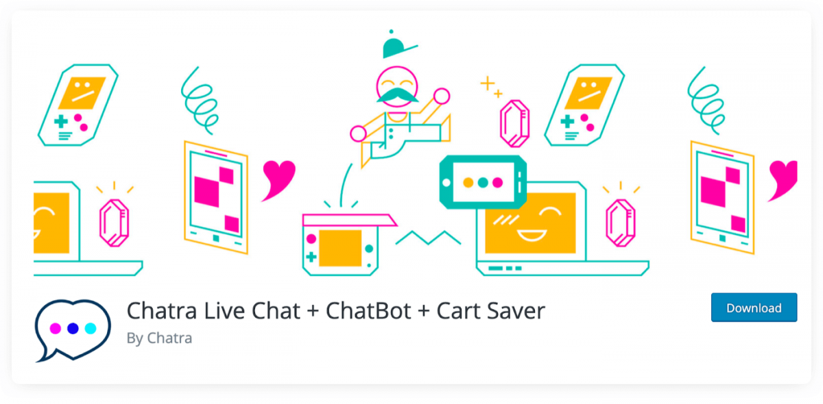 Chatra Live Chat + Chat Bot for WordPress