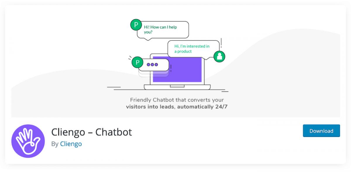 Cliengo Chatbot WP