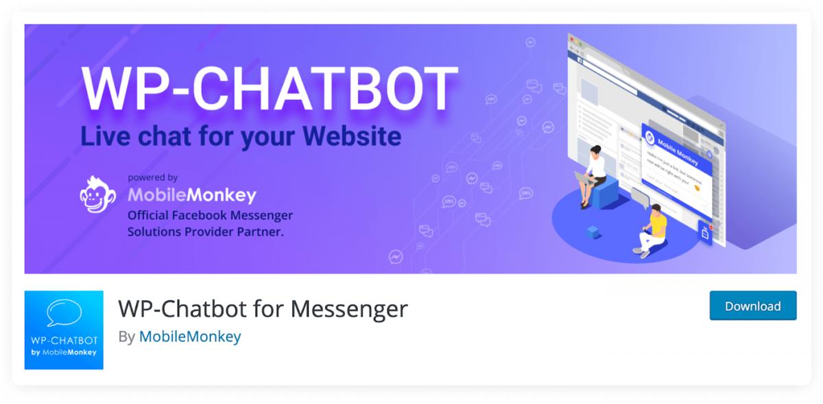 WP-Chatbot plugin for Messenger