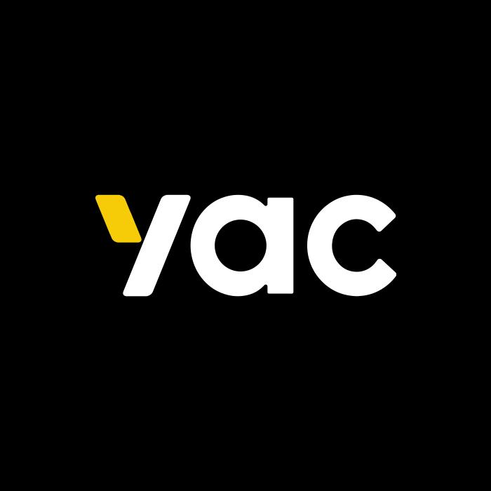 The logo of YAC