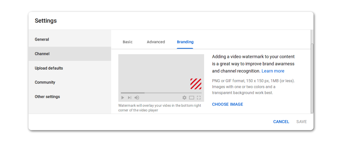 Subscribe Button on YouTube Videos